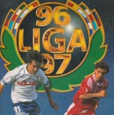 Coleccionismo deportivo: ALBUM EDICIONES ESTE LIGA 96/97 CAMPEONATO NACIONAL DE LIGA 1996 - 1997 PRIMERA DIVISION. Lote 63005776
