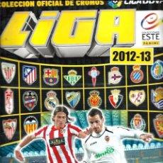 Coleccionismo deportivo: ALBUM DE LIGA BBVA 2012 2013 12 13 - COLECCIONES ESTE - CON 440 CROMOS PEGADOS - VER DESCRIPCION. Lote 63155184