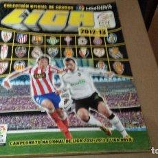 Coleccionismo deportivo: ESTE 2012-13 ÁLBUM MUY COMPLETO CON 477 CROMOS VER FOTOS. Lote 63549676