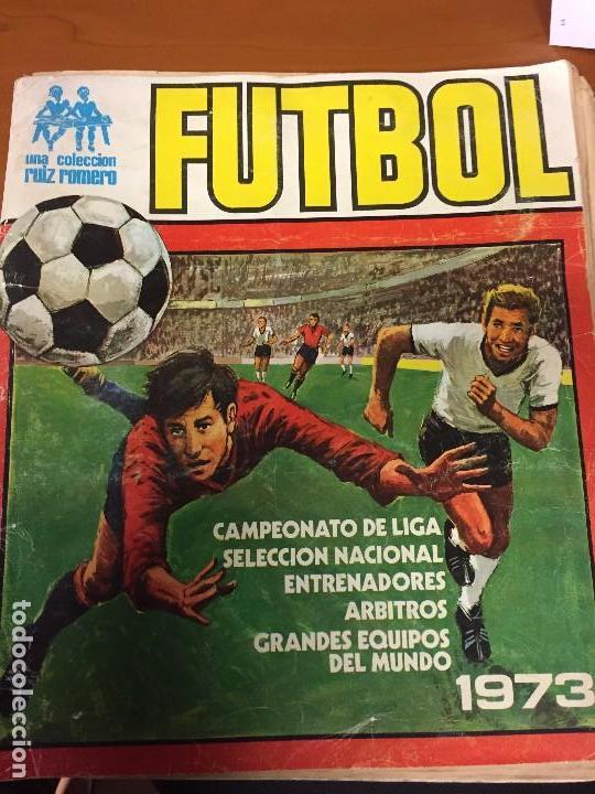 FUTBOL RUIZ ROMERO 1973 VACIO (Coleccionismo Deportivo - Álbumes y Cromos de Deportes - Álbumes de Fútbol Incompletos)