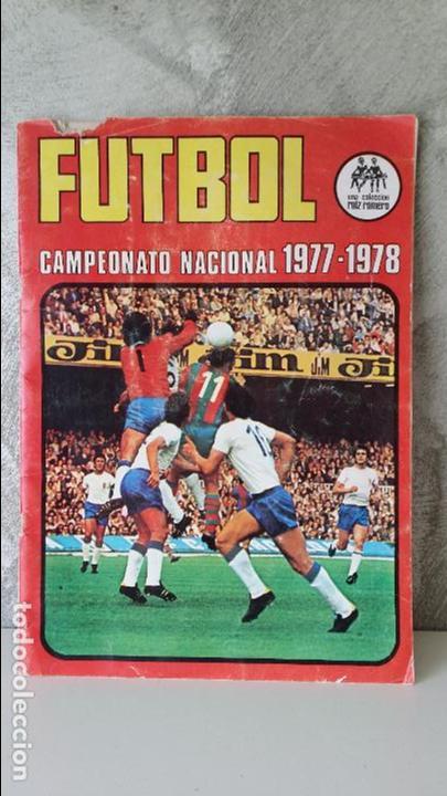 ÁLBUM FÚTBOL RUIZ ROMERO 1977 1978 (Coleccionismo Deportivo - Álbumes y Cromos de Deportes - Álbumes de Fútbol Incompletos)