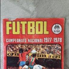 Coleccionismo deportivo: ÁLBUM FÚTBOL RUIZ ROMERO 1977 1978. Lote 63649527