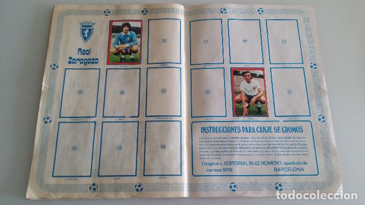 Coleccionismo deportivo: ÁLBUM FÚTBOL RUIZ ROMERO 1977 1978 - Foto 28 - 63649527