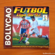Coleccionismo deportivo: FÚTBOL - LIGA 1996-1997, 96-97 - BOLLYCAO - A FALTA DE 5 CROMOS. Lote 63731663