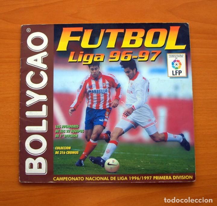 FÚTBOL - LIGA 1996-1997, 96-97 - BOLLYCAO - A FALTA DE 2 CROMOS (Coleccionismo Deportivo - Álbumes y Cromos de Deportes - Álbumes de Fútbol Incompletos)