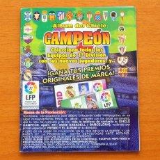 Coleccionismo deportivo: ÁLBUM DEL CHICLE CAMPEÓN - LIGA 96-97. Lote 63737099