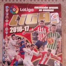 Coleccionismo deportivo: FÚTBOL - LIGA SANTANDER - LA LIGA 2016-17. Lote 63784363