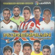 Coleccionismo deportivo: ALBUM DE ADRENALYN 2014/15 CON 508 FICHAS DE PANINI. Lote 64530295