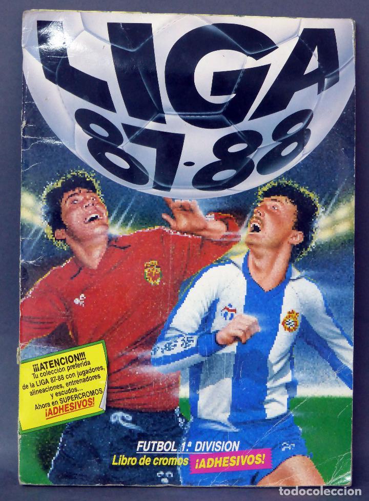 LIGA 87 - 87 ÁLBUM FÚTBOL ESTE 1987 - 1988 1ª DIVISIÓN INCOMPLETO FALTA 1 CROMO (Coleccionismo Deportivo - Álbumes y Cromos de Deportes - Álbumes de Fútbol Incompletos)