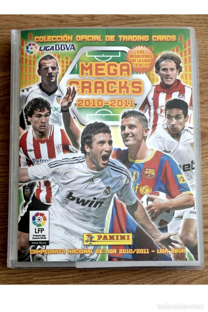 ALBUM FUTBOL MEGA CRACKS 2010 2011 COLECCIÓN OFICIAL DE 452 TRADING CARDS NO REPETIDAS (Coleccionismo Deportivo - Álbumes y Cromos de Deportes - Álbumes de Fútbol Incompletos)