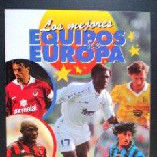 Coleccionismo deportivo: LOS MEJORES EQUIPOS DE EUROPA , ALBUM DE CROMOS DE FÚTBOL , INCOMPLETO , PANINI, 1997. Lote 65660702