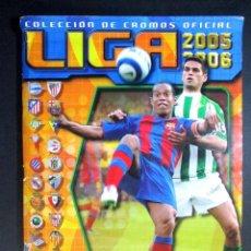 Coleccionismo deportivo: LIGA 2005 2006 , 05 - 06 , ALBUM DE CROMOS DE FÚTBOL , INCOMPLETO , EDICIONES ESTE. Lote 65662762