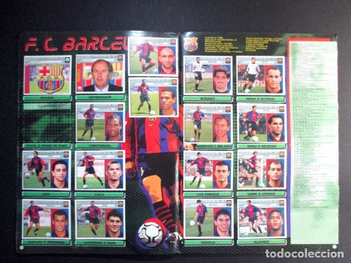 Coleccionismo deportivo: LIGA 2001 2002 , 01 - 02 , ALBUM DE CROMOS DE FÚTBOL , INCOMPLETO , EDICIONES ESTE - Foto 4 - 65663650
