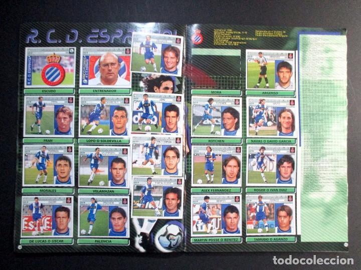Coleccionismo deportivo: LIGA 2001 2002 , 01 - 02 , ALBUM DE CROMOS DE FÚTBOL , INCOMPLETO , EDICIONES ESTE - Foto 8 - 65663650