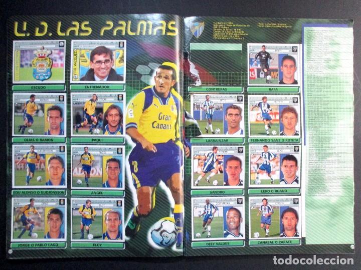 Coleccionismo deportivo: LIGA 2001 2002 , 01 - 02 , ALBUM DE CROMOS DE FÚTBOL , INCOMPLETO , EDICIONES ESTE - Foto 9 - 65663650