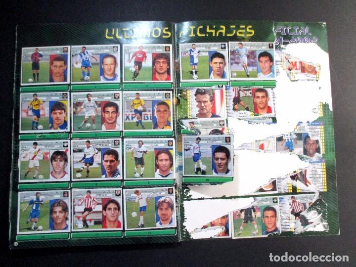 Coleccionismo deportivo: LIGA 2001 2002 , 01 - 02 , ALBUM DE CROMOS DE FÚTBOL , INCOMPLETO , EDICIONES ESTE - Foto 21 - 65663650