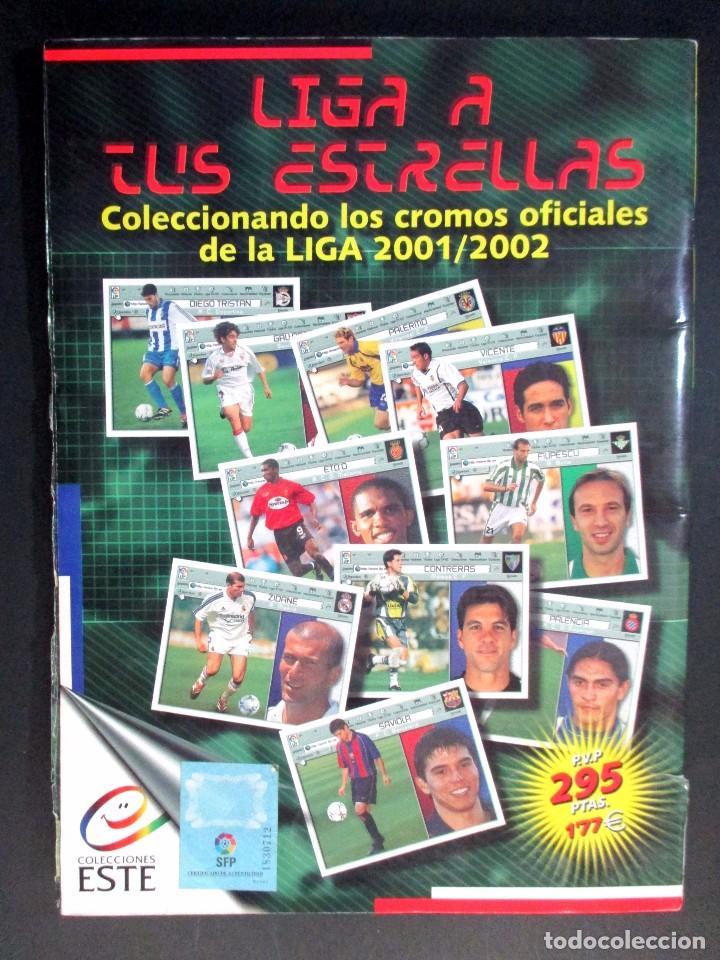 Coleccionismo deportivo: LIGA 2001 2002 , 01 - 02 , ALBUM DE CROMOS DE FÚTBOL , INCOMPLETO , EDICIONES ESTE - Foto 22 - 65663650