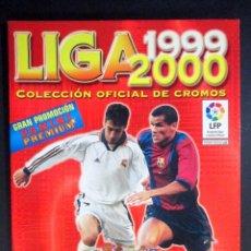 Coleccionismo deportivo: LIGA 1999 2000 , 99 - 00 , ALBUM DE CROMOS DE FÚTBOL , INCOMPLETO , PANINI , CASI VACÍO. Lote 65664802