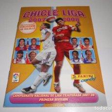 Coleccionismo deportivo: ALBUM VACIO SIN CROMOS CHICLE LIGA 2007 2008 07 08 CHICLES PANINI ESTE. Lote 65885670