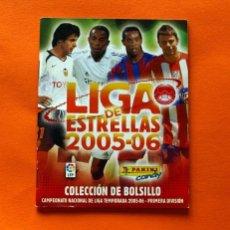 Coleccionismo deportivo: ÁLBUM DE COLECCIÓN DE BOLSILLO LIGA DE LAS ESTRELLAS 05-06 - 2005-2006 PANINI - VACIO. Lote 66481258