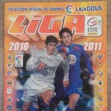 Coleccionismo deportivo: ALBUN DE CROMOS LIGA BBVA 2010-2011 COLECCIONES ESTE PANINI CONTIENE 142 CROMOS. Lote 66525918