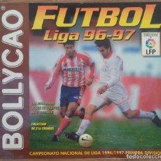 Coleccionismo deportivo: ALBUM DE CROMOS ***** FUTBOL LIGA 96-97 BOLLYCAO *** CONTIENE 90 CROMOS. Lote 66533630