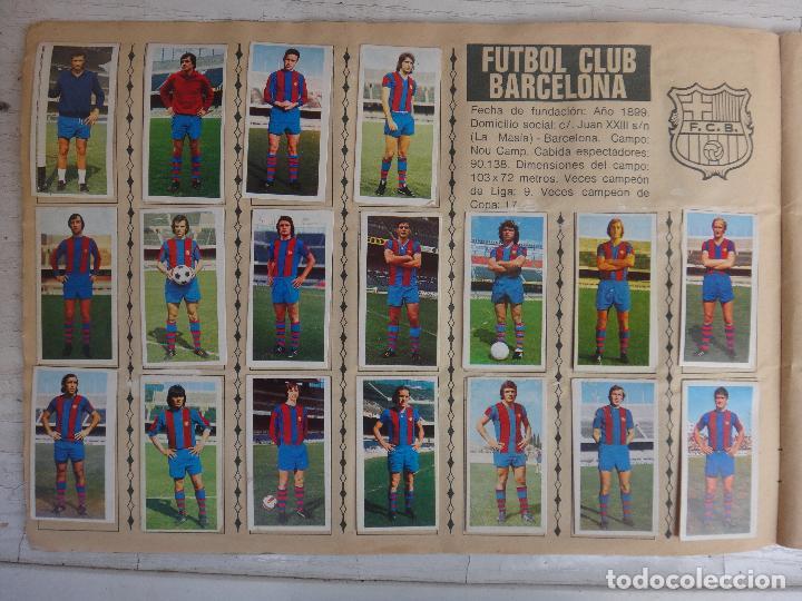Coleccionismo deportivo: ALBUM CAMPEONATO LIGA 1975 1976 75 76, ESTE COMPLETO A FALTA DE FICHAJES, VER FOTOS , ORIGINAL - Foto 5 - 67006282