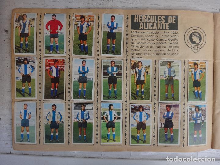 Coleccionismo deportivo: ALBUM CAMPEONATO LIGA 1975 1976 75 76, ESTE COMPLETO A FALTA DE FICHAJES, VER FOTOS , ORIGINAL - Foto 7 - 67006282
