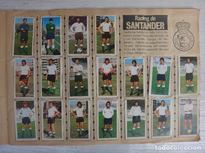 Coleccionismo deportivo: ALBUM CAMPEONATO LIGA 1975 1976 75 76, ESTE COMPLETO A FALTA DE FICHAJES, VER FOTOS , ORIGINAL - Foto 8 - 67006282