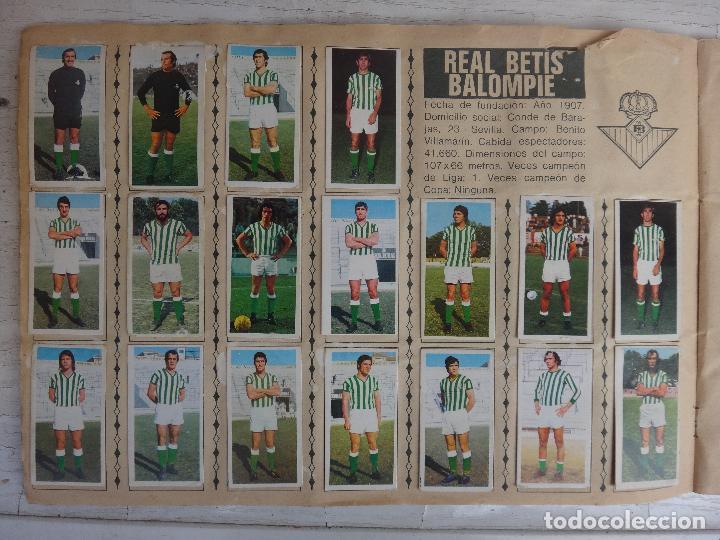 Coleccionismo deportivo: ALBUM CAMPEONATO LIGA 1975 1976 75 76, ESTE COMPLETO A FALTA DE FICHAJES, VER FOTOS , ORIGINAL - Foto 9 - 67006282