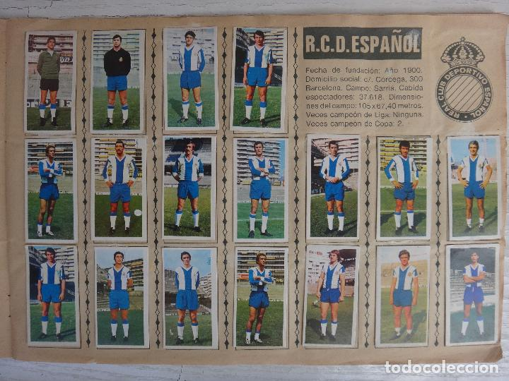 Coleccionismo deportivo: ALBUM CAMPEONATO LIGA 1975 1976 75 76, ESTE COMPLETO A FALTA DE FICHAJES, VER FOTOS , ORIGINAL - Foto 10 - 67006282