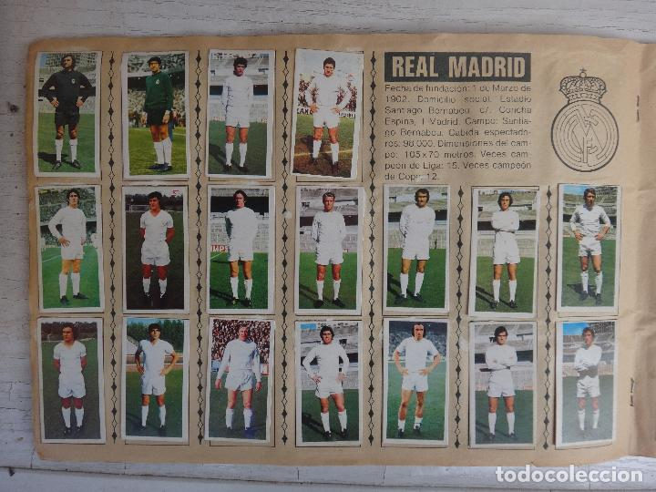 Coleccionismo deportivo: ALBUM CAMPEONATO LIGA 1975 1976 75 76, ESTE COMPLETO A FALTA DE FICHAJES, VER FOTOS , ORIGINAL - Foto 11 - 67006282