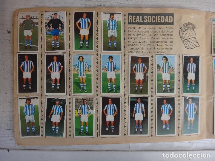 Coleccionismo deportivo: ALBUM CAMPEONATO LIGA 1975 1976 75 76, ESTE COMPLETO A FALTA DE FICHAJES, VER FOTOS , ORIGINAL - Foto 13 - 67006282
