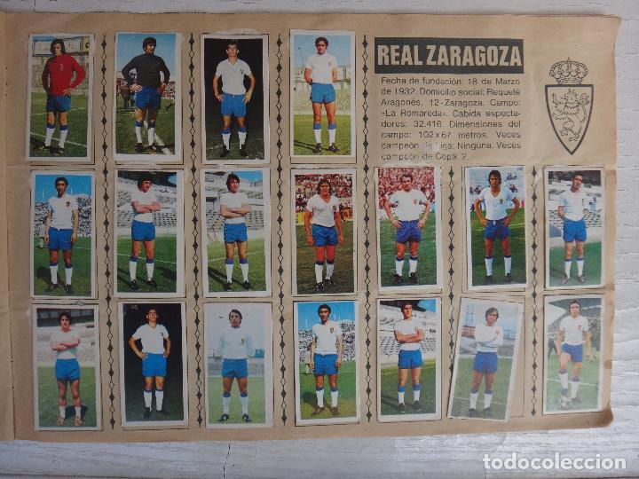 Coleccionismo deportivo: ALBUM CAMPEONATO LIGA 1975 1976 75 76, ESTE COMPLETO A FALTA DE FICHAJES, VER FOTOS , ORIGINAL - Foto 14 - 67006282