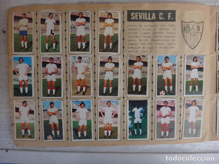 Coleccionismo deportivo: ALBUM CAMPEONATO LIGA 1975 1976 75 76, ESTE COMPLETO A FALTA DE FICHAJES, VER FOTOS , ORIGINAL - Foto 15 - 67006282