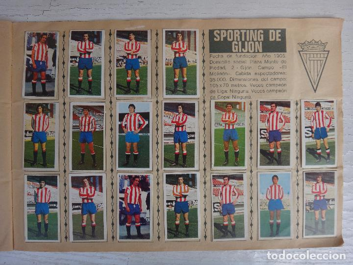 Coleccionismo deportivo: ALBUM CAMPEONATO LIGA 1975 1976 75 76, ESTE COMPLETO A FALTA DE FICHAJES, VER FOTOS , ORIGINAL - Foto 16 - 67006282