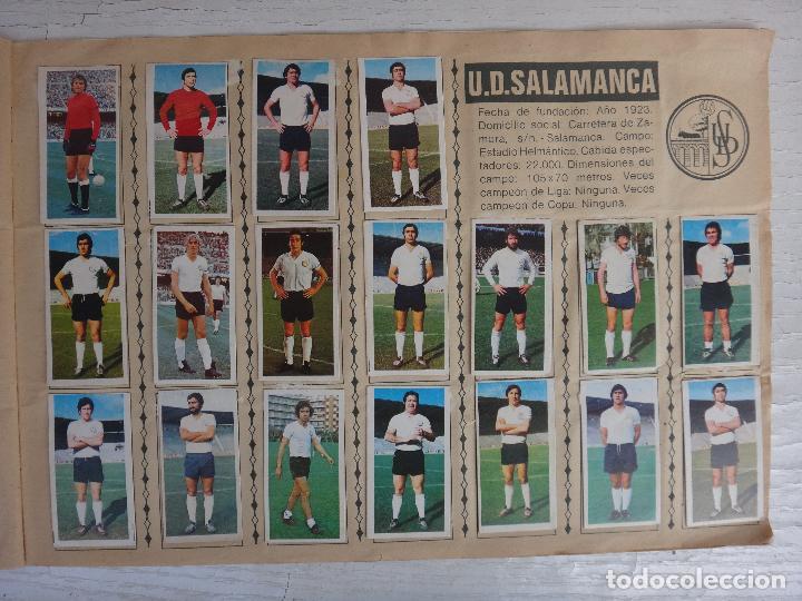 Coleccionismo deportivo: ALBUM CAMPEONATO LIGA 1975 1976 75 76, ESTE COMPLETO A FALTA DE FICHAJES, VER FOTOS , ORIGINAL - Foto 18 - 67006282
