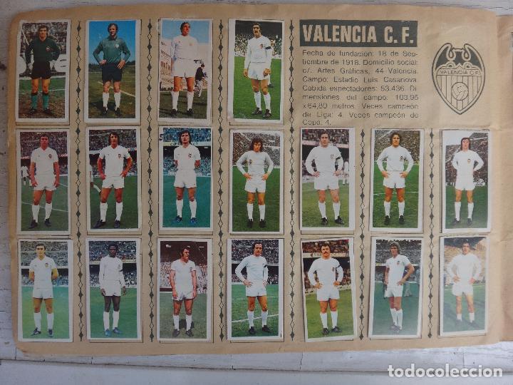 Coleccionismo deportivo: ALBUM CAMPEONATO LIGA 1975 1976 75 76, ESTE COMPLETO A FALTA DE FICHAJES, VER FOTOS , ORIGINAL - Foto 19 - 67006282
