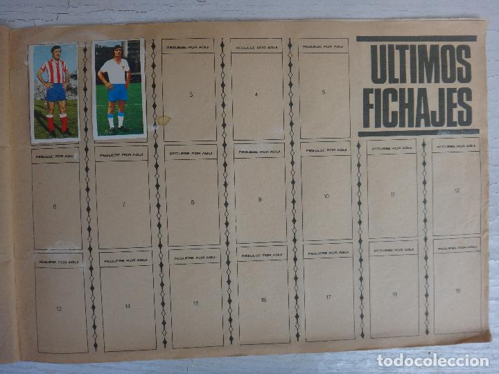 Coleccionismo deportivo: ALBUM CAMPEONATO LIGA 1975 1976 75 76, ESTE COMPLETO A FALTA DE FICHAJES, VER FOTOS , ORIGINAL - Foto 20 - 67006282