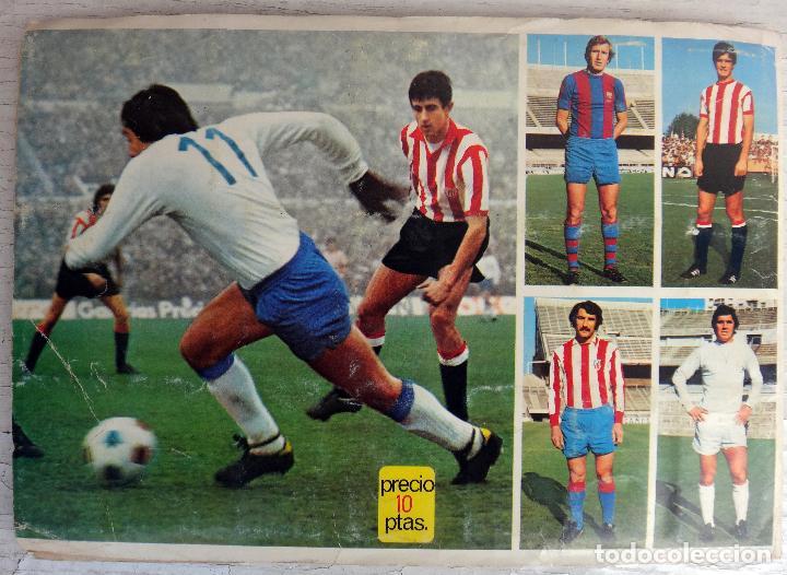 Coleccionismo deportivo: ALBUM CAMPEONATO LIGA 1975 1976 75 76, ESTE COMPLETO A FALTA DE FICHAJES, VER FOTOS , ORIGINAL - Foto 21 - 67006282