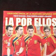 Coleccionismo deportivo: ALBUM FUTBOL PANINI VACIO A POR ELLOS SELECCION ESPAÑOLA 2009 . Lote 67012086