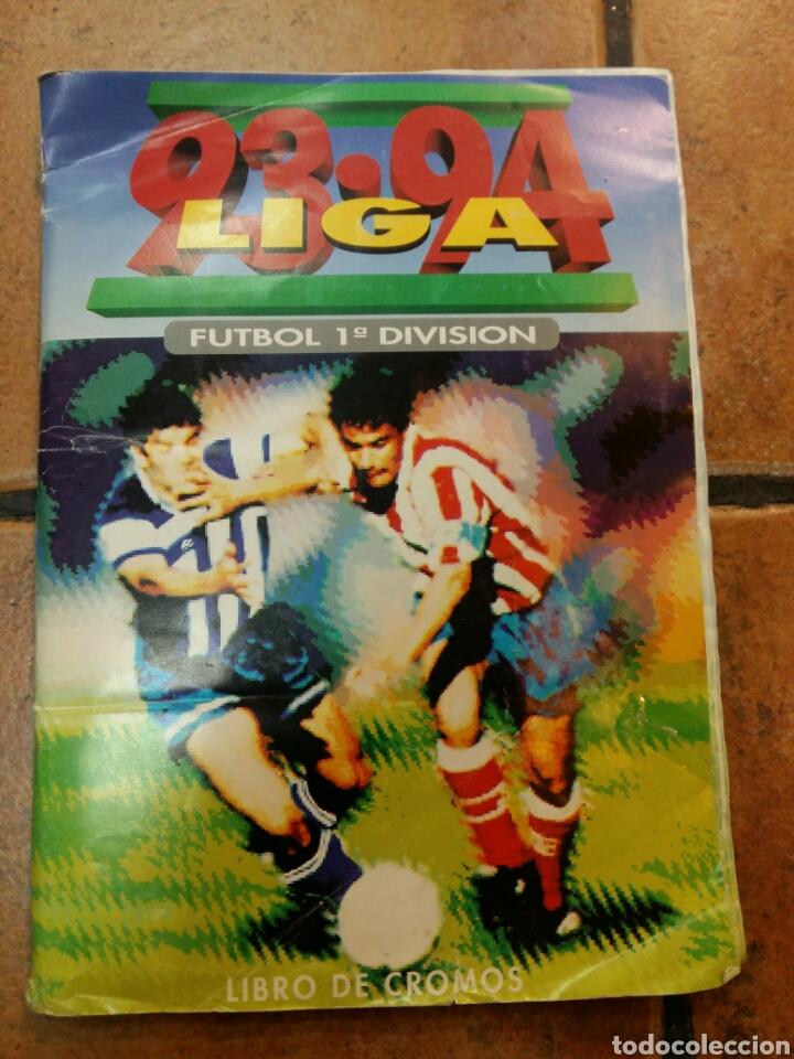 ÁLBUM LIGA 93 94 EDICIONES ESTE (Coleccionismo Deportivo - Álbumes y Cromos de Deportes - Álbumes de Fútbol Incompletos)