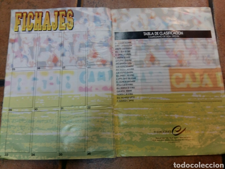 Coleccionismo deportivo: Álbum liga 93 94 ediciones este - Foto 4 - 67025466