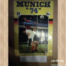 Coleccionismo deportivo: MUNICH 74 ALBUM CAMPEONATOS MUNDIALES (FALTA UN CROMO). Lote 113056202