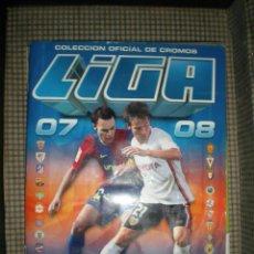 Coleccionismo deportivo: ÁLBUM LIGA 2007/2008 CAMPEONATO NACIONAL 1ª DIVISION EDICIONES ESTE BARCELONA BUEN ESTADO. Lote 67078625