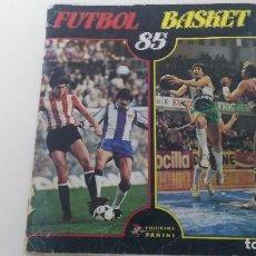Coleccionismo deportivo: ALBUM DE CROMOS FUTBOL BASKET 85. Lote 67465881