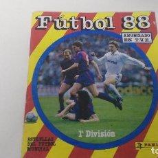 Coleccionismo deportivo: ALBUM DE CROMOS FUTBOL 88 PANINI. Lote 67466001