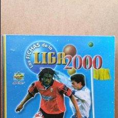 Coleccionismo deportivo: ALBUM LIGA 1999-2000 FICHAS, OFICIAL 1ª DIVISION,TRADING CARDS ,SOLO LE FALTAN 33 FICHAS. Lote 68688745