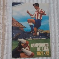 Collectionnisme sportif: 71 72, SIN POSTER CENTRAL. Lote 68762525