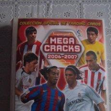 Coleccionismo deportivo: ÁLBUM MEGA CRACKS 2006- 2007. 1A. DIVISIÓN. PANINI SPORTS. INCOMPLETO, 292 FICHAS.. Lote 69105053
